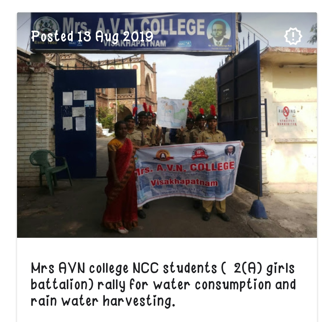 Rally on water conservation
