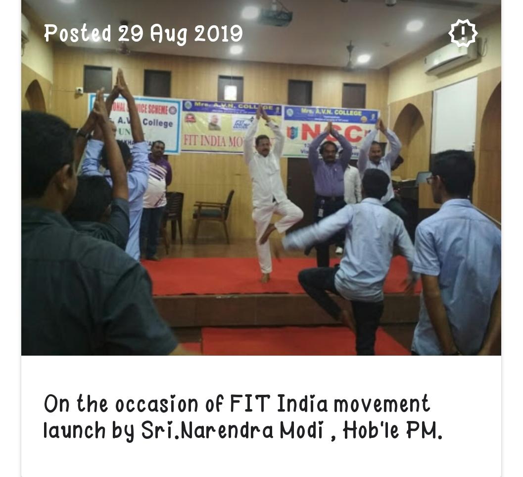 FIT India program