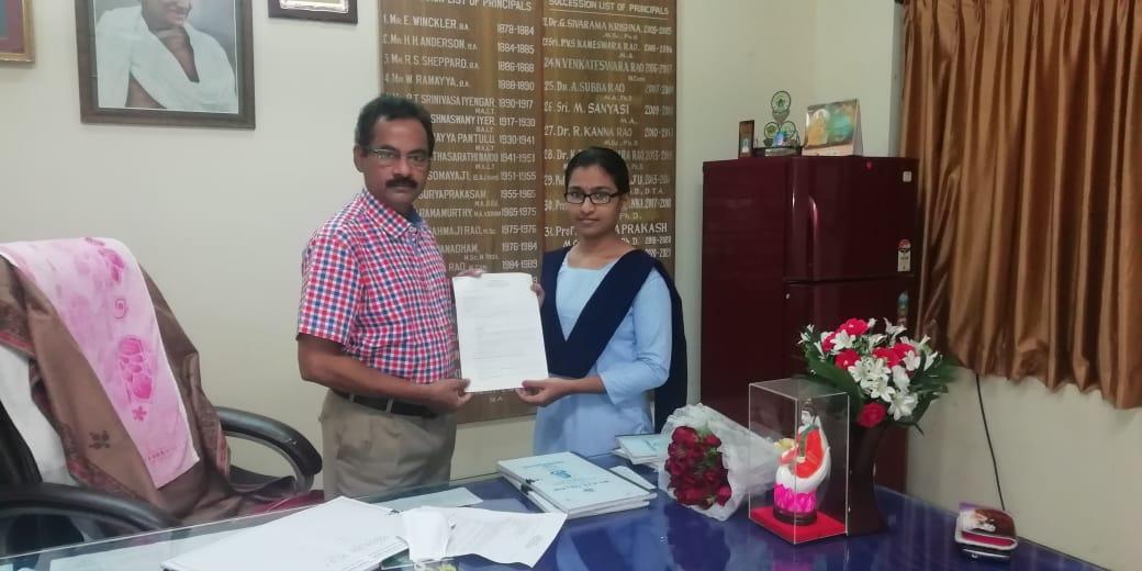 Selected for ISRO Apprentice