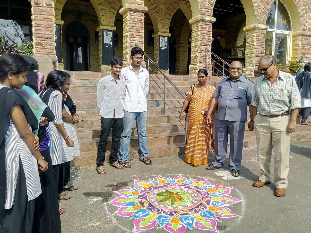 Rangoli competitions